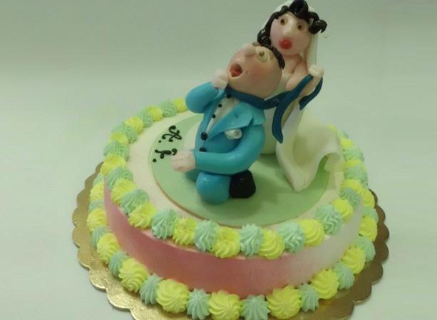 mini torte nuziali