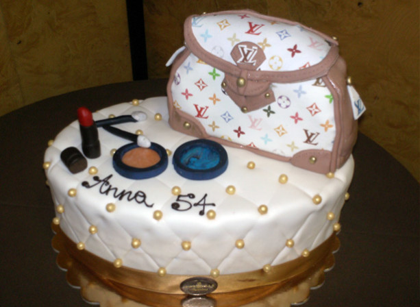 torta borsa luis vuotton