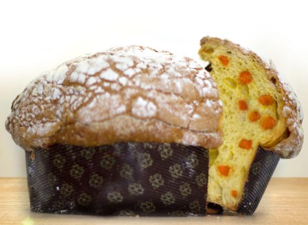 Panettone artigianale al albicocca e zenzero